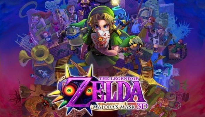 Zelda Majora's Mask 3D el más vendido en USA en febrero de 2015