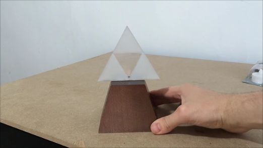 Como hacer una Trifuerza LED luminosa