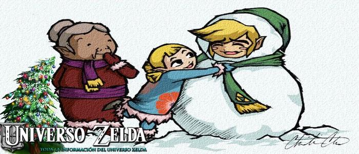 Feliz Navidad de parte de todo Universo Zelda