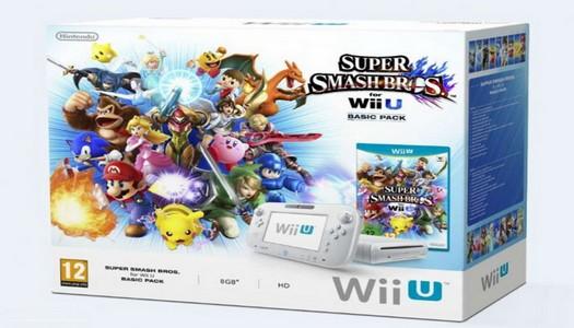 Pack de Wii U + Super Smash Bros a la venta el 23 de diciembre