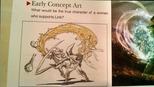 ¿Qué diablos está pasando con este boceto Hyrule Warriors?