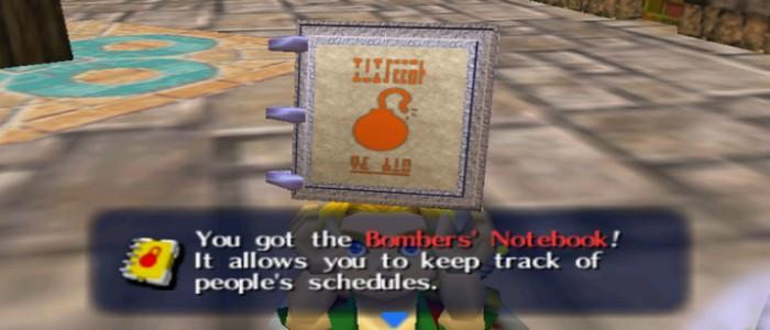 Zelda Majora's Mask 3D renueva el Cuaderno de los Bomber