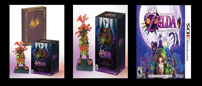 Las diferentes versiones de Zelda Majora's Mask 3D en USA