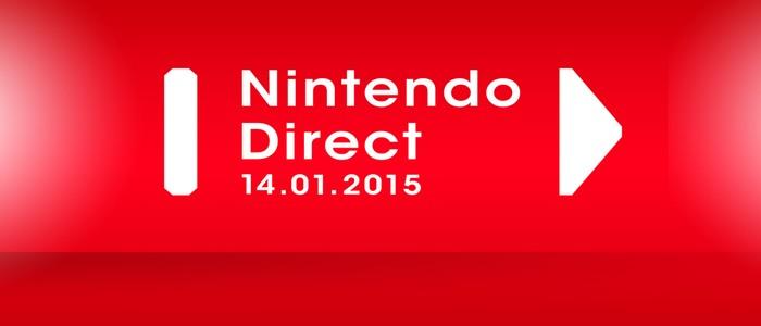 Primer Nintendo Direct del 2015 anunciado para el 14 de enero