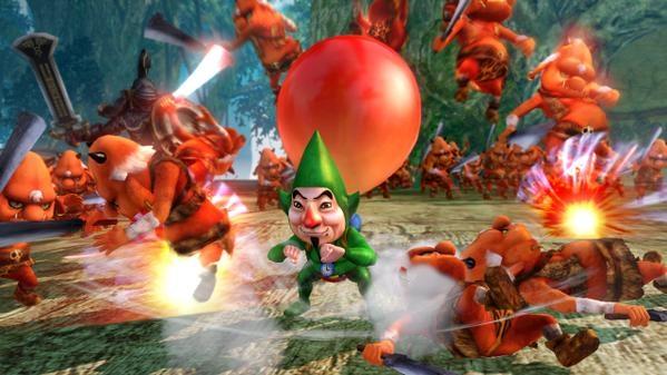 ¡Tingle y Young Link en el nuevo DLC Majora's Mask para Hyrule Warriors!