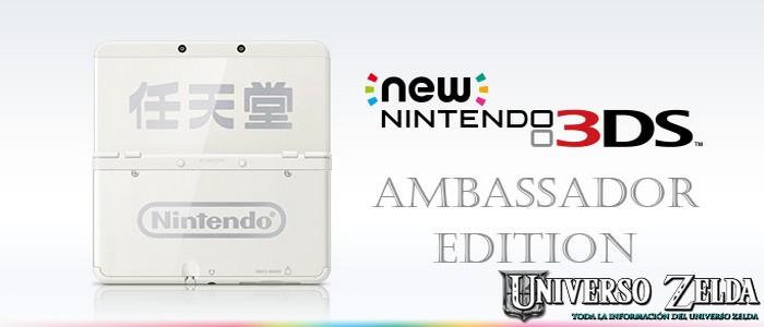 Nuevas New Nintendo 3DS Edición Embajadora para el 12 de enero