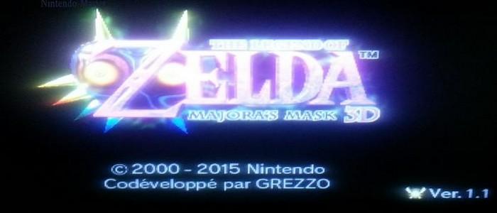Zelda Majora's Mask 3D recibe su primera actualización y ocupa 40 bloques