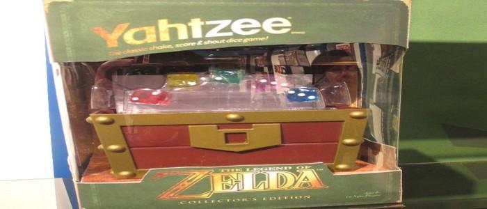 Nuevo producto oficial Zelda de USAopoly: Juego de Cofre con Rupias/Dados