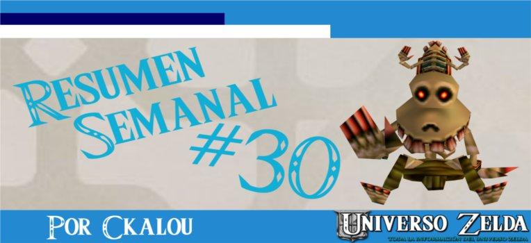 Noticias Semanales de UniversoZelda #30