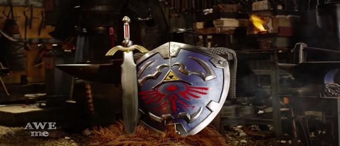 Recrean el Escudo Hylian de Link en la vida real – paso a paso