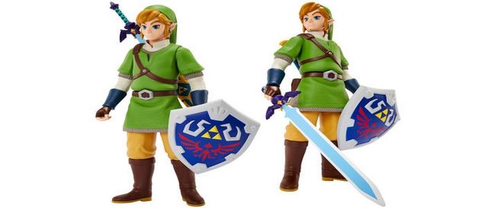 Nueva figura de Link de Skyward Sword articulable por Jakks Pacific