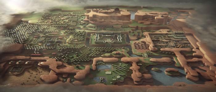 Escenas tras Game of Hyrule, la intro de Zelda A Link to the Past a lo Juego de Tronos