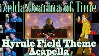"A capela de ""Hyrule Field"" de Ocarina of Time por Jaron Davis"