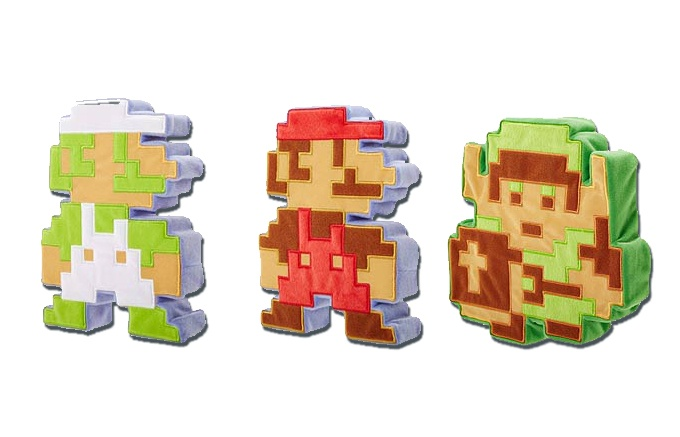 Peluche de 8-Bits de Link disponible en Julio