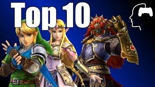TOP10 de juegos Zelda según GamesBrained