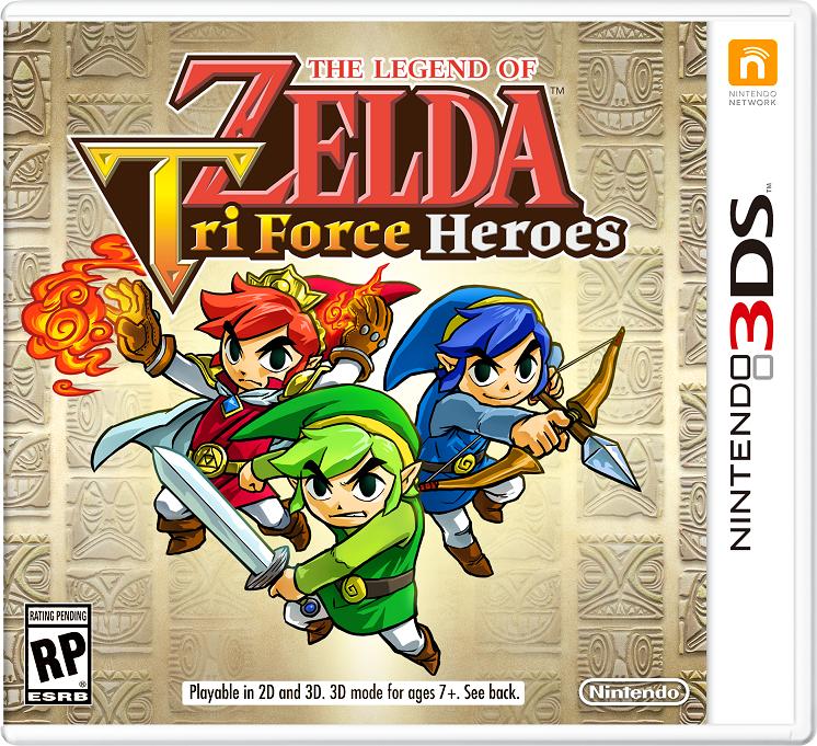 No hay planes para soporte Amiibo en Zelda: Triforce Heroes