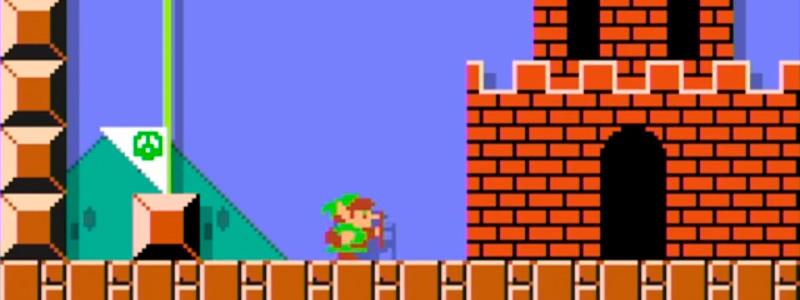 Link en Super Mario Maker