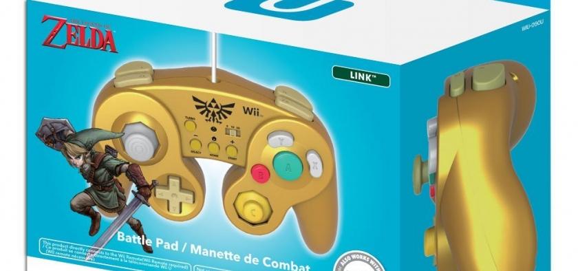 Nuevo lanzamiento de Battlepad para Wii U con la temática de Zelda