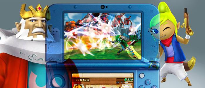 Hyrule Warriors Legends no funciona bien en la Nintendo 3DS clásica