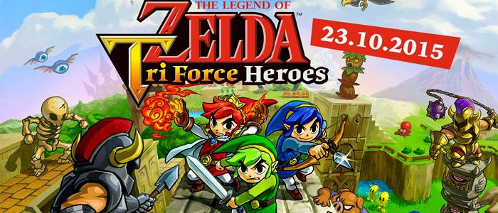 Tri Force Heroes se creó como un título alegre y divertido