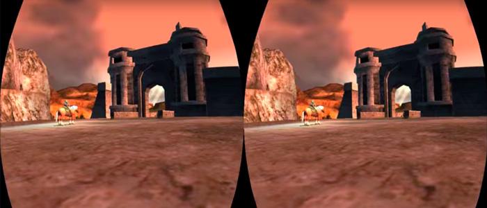 Twilight Princess en Oculus Rift