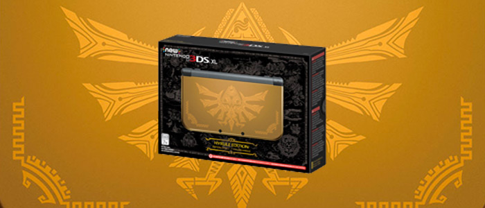 New Nintendo 3DS XL Hyrule Edition llega a Europa