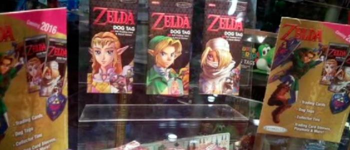 Tarjetas coleccionables de Zelda