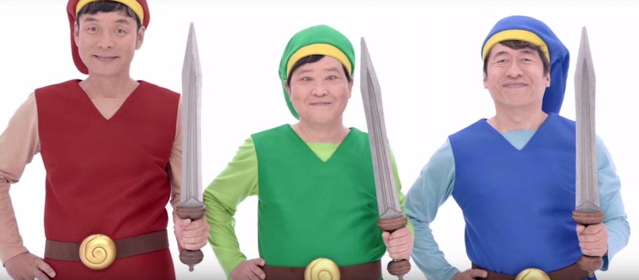 Anuncios de TV de Tri Force Heroes