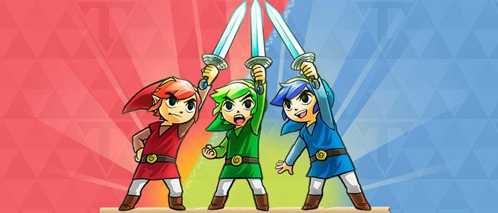 Zelda Tri Force Heroes: Orígenes del traje de animadora y Ropas Eternas