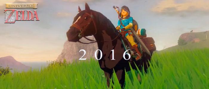 Zelda U confirmado para 2016