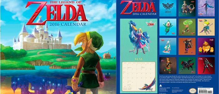 Calendario Zelda 2016