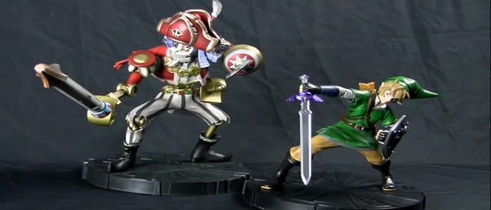 Nuevas preciosas figuras exclusivas de Zelda Skyward Sword en stock