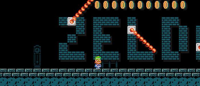 Nivel Zelda en Mario Maker