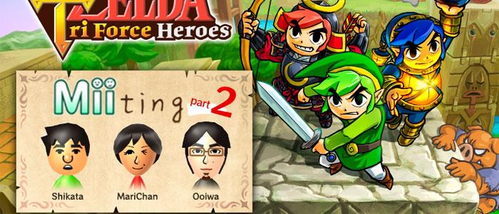 Hablan los desarrolladores de Tri Force Heroes