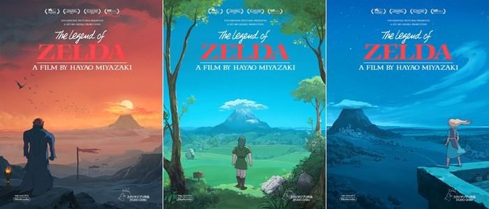 Imagina The Legend of Zelda si fuese una película de los estudios Ghibli