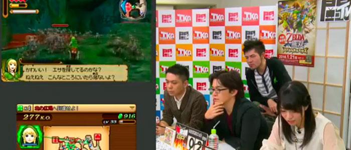 Presentación de Hyrule Warriors Legends en Japón