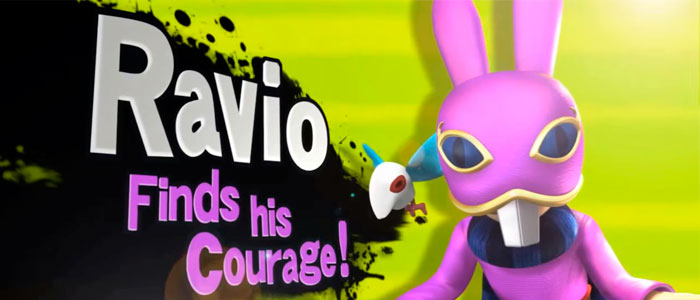 ¿Ravio en Super Smash Bros.?