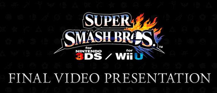 Última presentación de Super Smash Bros.
