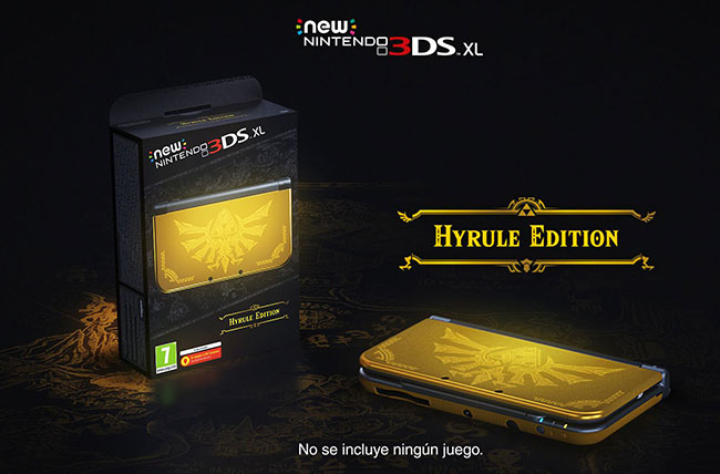 Trailer de New Nintendo 3DS XL Hyrule Edition