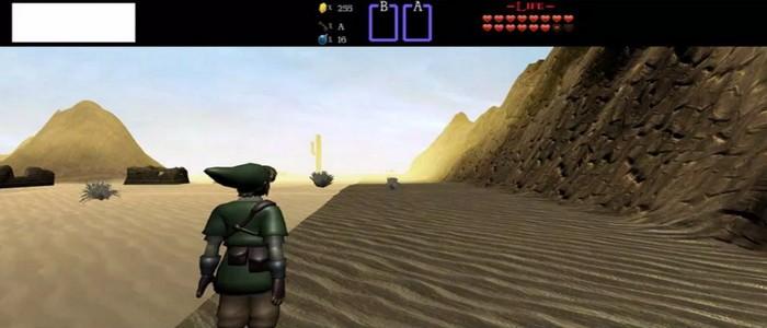 Fan se lanza a crear remake de The Legend of Zelda para NES y en 3D