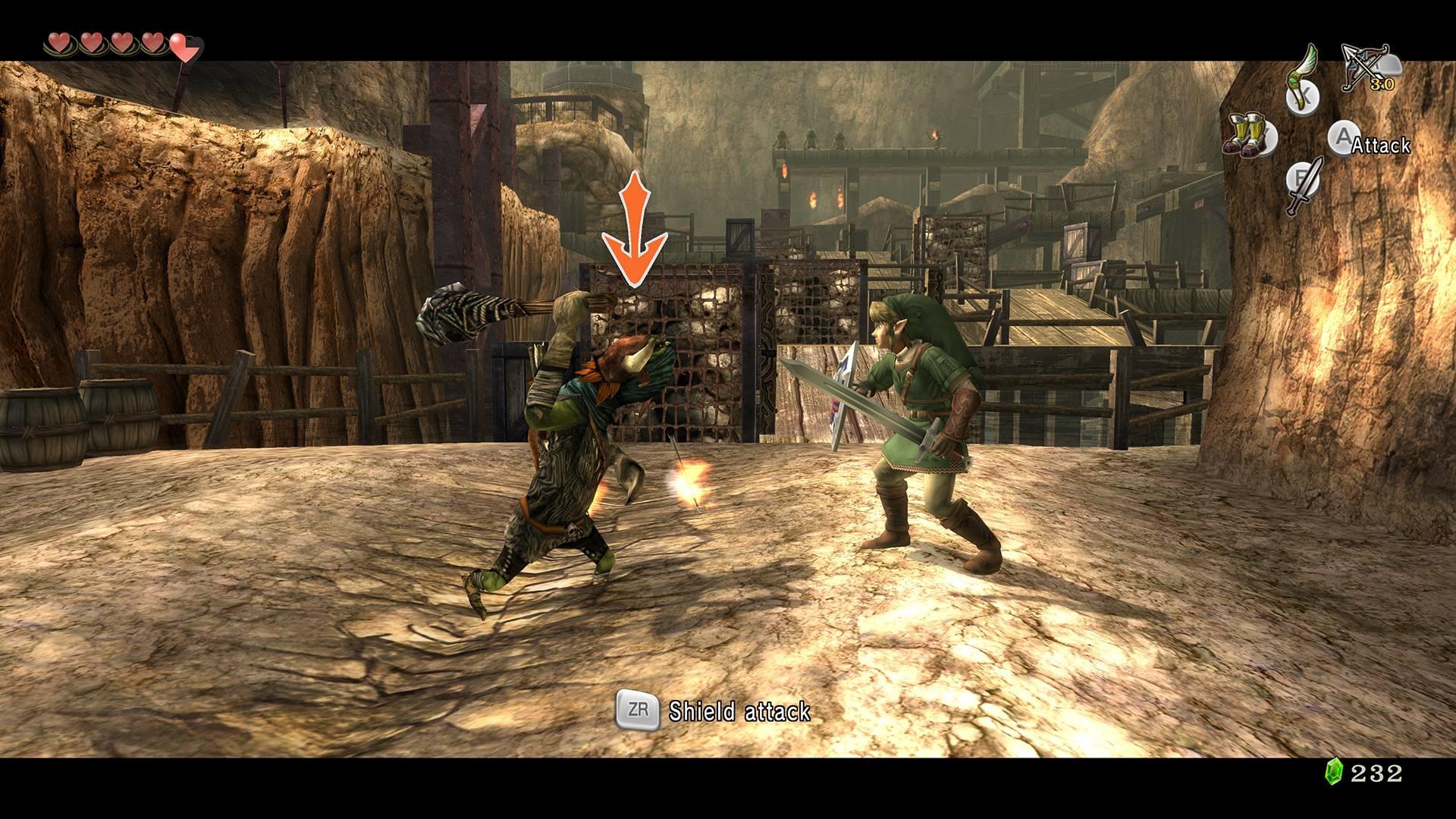 Nintendo muestra fotos de minas goron, mapa y más de Twilight Princess HD