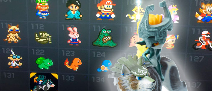 Wolf Link en Super Mario Maker