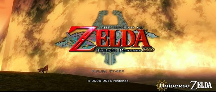 Twilight Princess HD no incluirá el tráiler del juego en la pantalla de título
