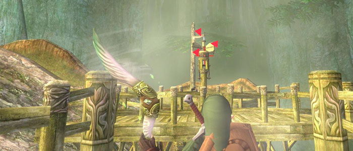 Bumerán Tornado en Twilight Princess HD