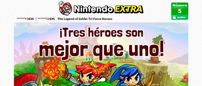 Tri Force Heroes en Nintendo Extra 5
