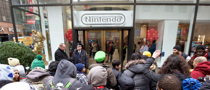 Re-Apertura de la Nintendo New York Store
