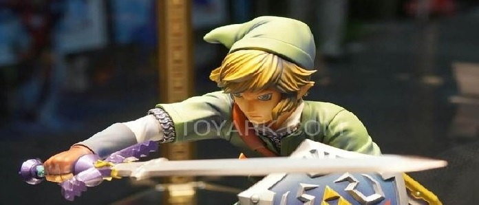 Un mejor vistazo a la figura de Link de Good Smile