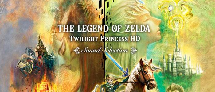 CD Twilight Princess HD Sound Selection