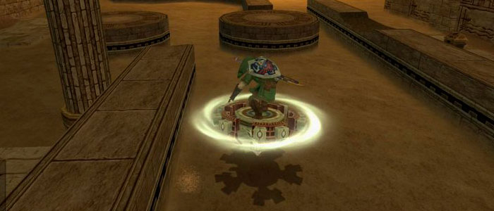 Aerodisco en Twilight Princess