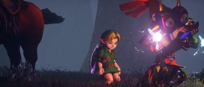 La intro de Majora's Mask en Unreal Engine 4